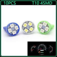 Led Lights Bulbs by Aliexpress Com Buy 10pcs T10 Wedge 1210 4smd Led Lights Bulbs