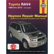 toyota rav 4 1996 2012 haynes manual