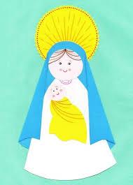 imagenes de virgen maria infantiles nuestros hijos algunas manualidades para niños en navidad