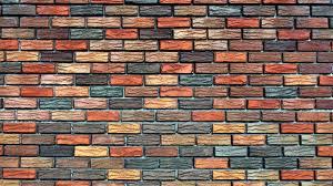 brick look wallpaper hd