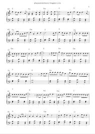Piano Key Notes Free Piano Sheet Music Shape Of You Ed Sheeran Pdf Your Love Was