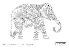 free elephant zentangle download hobbycraft blog