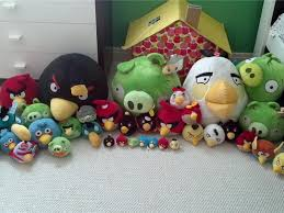 angry birds stuffed animals bedroom record