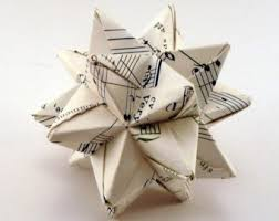 small book ornament ornament origami