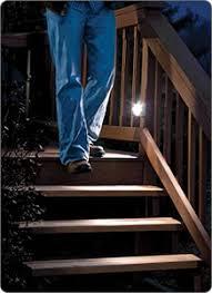 wireless motion sensor led step u0026 stair lights by mr beams