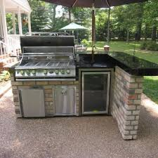 Outdoor Kitchens Design by Top 25 Best Built In Grill Ideas On Pinterest Outdoor Grill