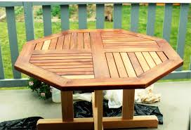 Octagon Patio Table Plans Octagon Wooden Picnic Table Uk The Advantageous Octagon Picnic