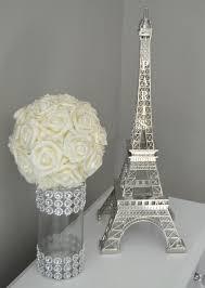 eiffel tower centerpieces ideas eiffel tower centerpiece parisians theme decor wedding