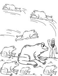 the 10 plagues of egypt colouring page colouring tube