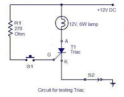 how to test an scr electronic circuits and diagrams electronic