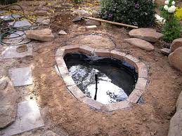 How To Build A Fish Pond In Your Backyard How To Build A Fish Pond Or Garden Pond 6 Steps