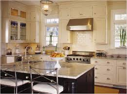 Kitchens With Off White Cabinets Cream Cabinets With White Trim Roomology