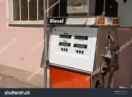 old diesel petrol pump austria filling stock photo 702661987