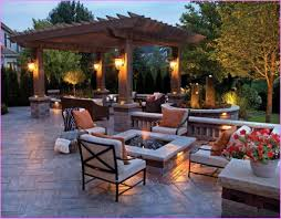 Outdoor Patio Firepit by Home Design Outdoor Patio Ideas With Firepit Banquette Bath