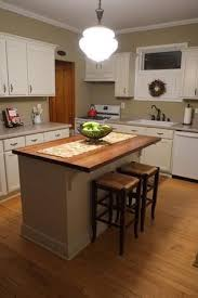 kitchen with small island home sun nov 12 cabinet trim diy kitchen island and wood counter