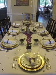 uncategories traditional place setting elegant dining table set