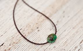 small stone necklace images Guided spirit small turquoise jpg