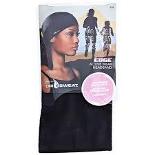dri sweat headband dri sweat edge black active wear headband