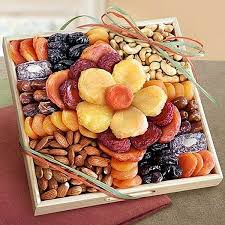 fruit and nut gift baskets best 25 fruit gift baskets ideas on fruit basket
