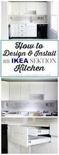 how to design and install ikea sektion kitchen cabinets just a