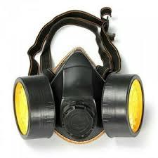 Masker Gas masker gas tabung ganda np306 chemical respirator elevenia