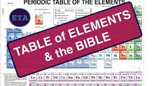 Periodic Table Changes Periodic Table Of Elements Mar 2017 Mandela Effect Bible Changes