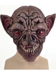 Halloween Rubber Masks Evil Vampire Bat Overhead Rubber Mask Fancy Dress Halloween