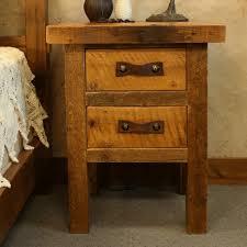 awesome black wood nightstand reclaimed wood nightstand black