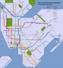 Queens Subway Map by File Nyc Subway Late Night Map Svg Wikimedia Commons
