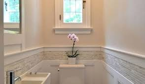 wainscoting bathroom ideas pictures subway tile wainscoting bathroom attractive best wainscoting