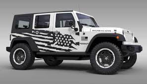 jeep army star product us flag theme splash stars graphic decal for 07 17 jeep