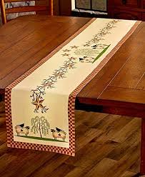 Primitive Table Runners by Country Table Runner Amazon Com
