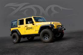 jeep jk suspension zone offroad 4