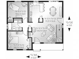 Cheapest House To Build Plans by One Story Duplex House Plans Bedroom Floor Basic With Garage In