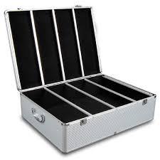 i life 1000 capacity aluminium cd storage case u0026 reviews temple