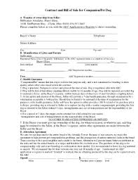 puppy contract sample pug fill online printable fillable
