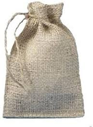burlap drawstring bags pack of 6 un laminated jute burlap drawstring bag eco