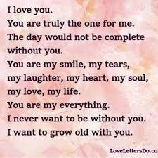 wonderfull i love you letters u2013 letter format writing