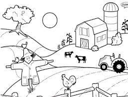 farm animals coloring page farm animals coloring pages funny farm animals coloring page for