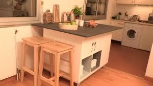 comment construire un ilot central de cuisine construire ilot cuisine cuisine en image