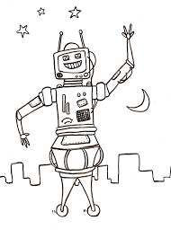 100 robots coloring pages robot coloring pages free printable