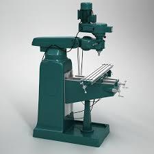 3d milling machine milling machine 3d model on behance