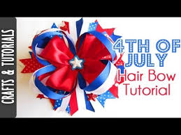 fourth of july hair bows 4th of july hair bow tutorial