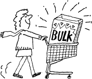 buying in bulk when you live alone diary of a smart