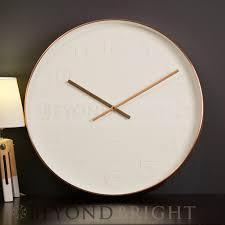 elegant designer clocks by karlsson mr white numbers large 51cm