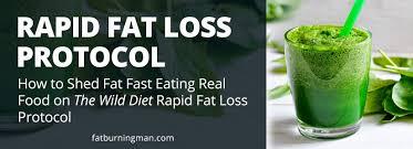 the wild diet rapid fat loss plan fat burning man