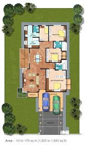 nice single story house plans in malaysia 9 floor plan bungalow