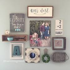 Ideas For Living Room Wall Decor Best 25 Rustic Gallery Wall Ideas On Pinterest Rustic Wall