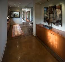 how to stain concrete floors bathroom contemporary with bamboo