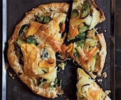Main Dish Vegetables - savory vegetable tarts finecooking